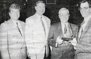RWAM Employees accepting award