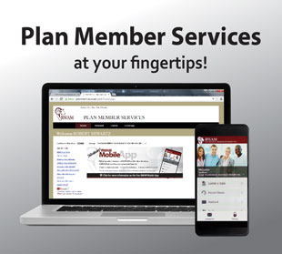 Plan Member Services graphic