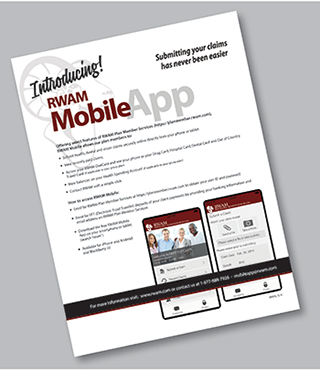 RWAM Mobile App graphic
